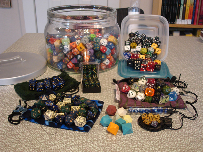 A whole lotta dice