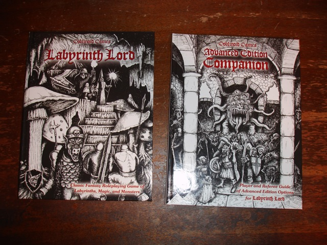 Labyrinth Lord Core Rules and Advanced Edition Companion