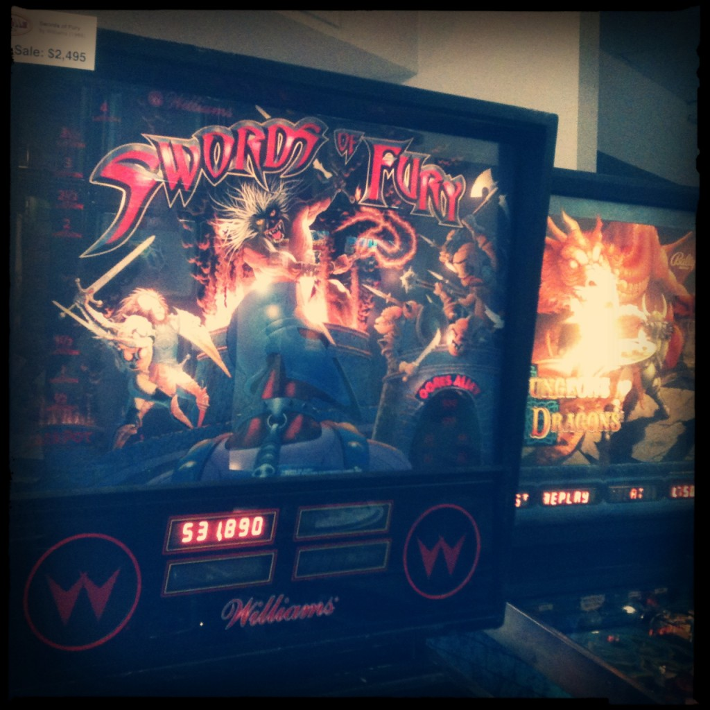 Swords Of Fury Pinball