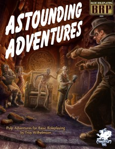ASTOUNDING ADVENTURES Front Cover