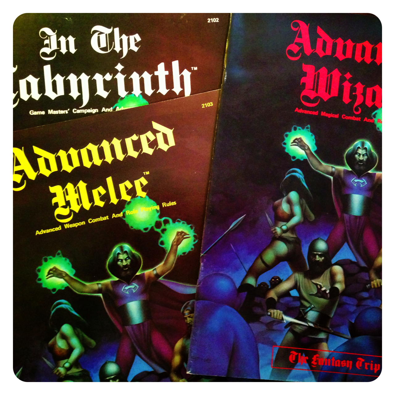 Advanced Melee, Wizard and In The Labyrinth