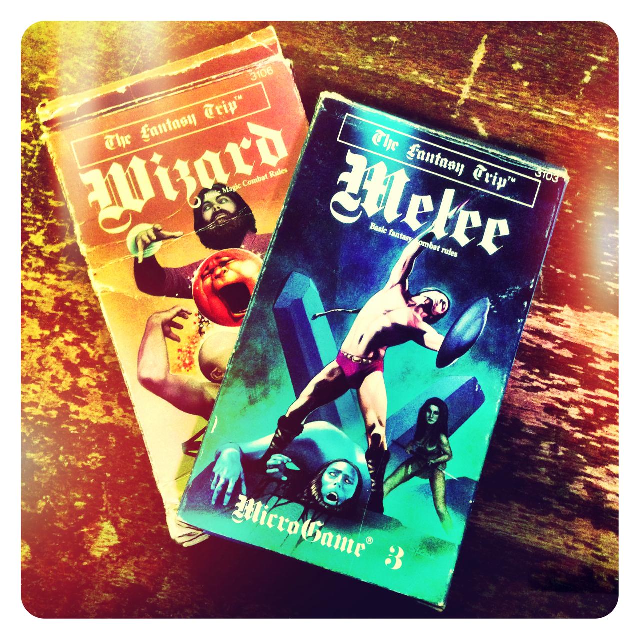 Melee & Wizard
