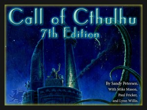 Call of Cthulhu 7th Edition